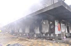 Vụ hỏa hoạn ở chợ Phố Hiến: Cháy chợ ra... sai phạm