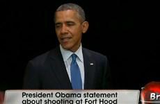 [Video] Tổng thống Obama lên tiếng về vụ xả súng