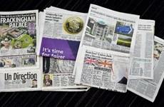 Báo chí Anh đùa giỡn về cuộc trưng cầu dân ý ở Scotland