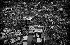 """""""Siêu bão Haiyan"""" đứng đầu ảnh báo chí quốc tế Trung Quốc"""