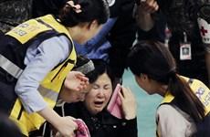 Vụ chìm phà SEWOL: Các phụ huynh giận dữ với Tổng thống