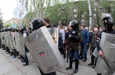 [Photo] Xung đột tại miền đông Ukraine vẫn tiếp diễn