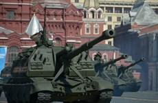 Dàn vũ khí hiện đại của Nga diễu qua Quảng trường Đỏ