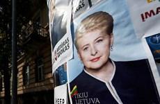 """Litva bắt đầu bầu tổng thống: """"Bà đầm thép"""" có chiến thắng?"""