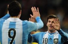Đội tuyển Argentina lên danh sách tham dự World Cup 2014