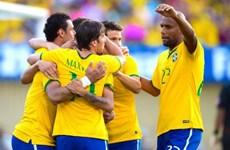 Brazil trở lại tốp 3 FIFA ngay trước thềm World Cup 2014