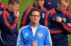 """World Cup 2014: """"Gấu Nga"""" tỉnh giấc dưới bàn tay Capello?"""