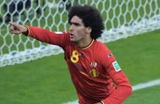 """Huấn luyện viên Algeria """"tâm phục khẩu phục"""" trước Marouane Fellaini"""