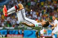 """""""Lão tướng"""" Miroslav Klose đi vào lịch sử các kỳ World Cup"""