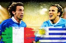 Cục diện của bảng D: Cơ hội nào cho Italy và Uruguay?