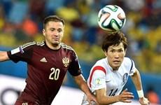 Cục diện bảng H trước lượt cuối vòng bảng World Cup 2014