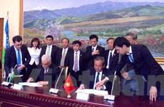 Việt Nam kêu gọi Uzbekistan ủng hộ trong vấn đề Biển Đông