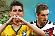 """Chìa khóa mang tính quyết định trận """"đại chiến"""" Brazil - Đức"""
