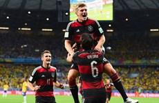 Cận cảnh chiến thắng kinh hoàng 7-1 của Đức trước Brazil