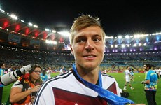 Tương lai nhà vô địch Toni Kroos đã được xác định rõ ràng