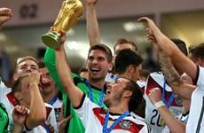 Tân vô địch Đức trở lại ngôi số 1 trên bảng xếp hạng FIFA