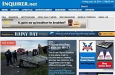 Các nước có nạn nhân của MH17 đã đưa tin ra sao về thảm họa?