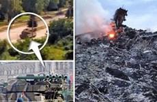Xuất hiện đoạn video xe chở tên lửa được cho là đã bắn MH17