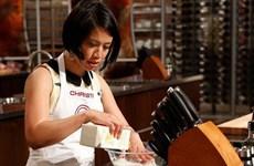 Đầu bếp Christine Hà làm giám khảo Master Chef trên thuyền