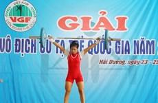 Hà Nội nhất toàn đoàn giải vô địch cử tạ trẻ quốc gia 2014