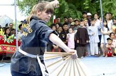 Khai mạc Liên hoan Quốc tế võ cổ truyền Việt Nam lần thứ 5