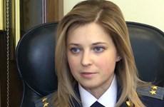 Nữ công tố viên xinh đẹp của Crimea bị Nhật Bản trừng phạt