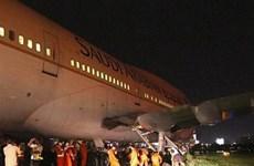 Philippines: Máy bay chở 298 hành khách chệch khỏi đường băng