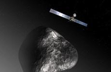 Tàu vũ trụ không người lái có cuộc gặp gỡ lịch sử với sao chổi