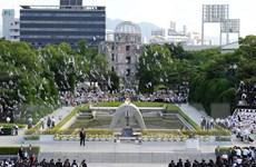[Photo] Tưởng niệm ngày Mỹ ném bom nguyên tử xuống Hiroshima