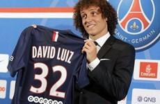 """""""Bom tấn"""" David Luiz chính thức ra mắt trong màu áo PSG"""