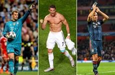 Ronaldo, Neuer và Robben đua danh hiệu UEFA, Messi bị loại