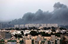 Libya: Sân bay ở Tripoli lại bị tấn công gây thiệt hại lớn