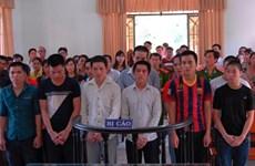 Phạt tù 12 đối tượng gây rối tại các khu công nghiệp ở Đồng Nai