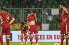 """Kết quả: Tây Ban Nha thua sốc Slovakia, """"Tam sư"""" đại thắng"""