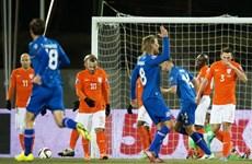 Kết quả: Hà Lan nếm cay đắng trước Iceland, Italy mất ngôi đầu