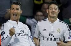 """Ronaldo, Rodriguez đáp trả """"bộ tam"""" hùng mạnh của Barcelona"""