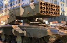 Nga cung cấp hệ thống phun lửa TOS-1A Solsepek cho Iraq