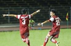 U21 Báo Thanh niên Việt Nam thắng đậm U21 Singapore ngày ra quân