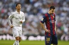 """Messi và Cristiano Ronaldo sẽ tiếp tục """"đại chiến"""" trên đất Anh"""