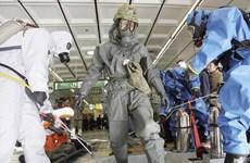 Nhật Bản lần đầu tiên diễn tập chống khủng bố bằng khí độc