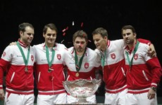 Thể thao tuần qua: Federer vô địch Davis Cup, Hamilton lên ngôi F1