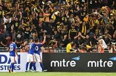 [Video] Malaysia thắng kịch tính Singapore để đối đầu Việt Nam