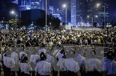 Sinh viên Hong Kong tuyên bố đạt được mục tiêu hành động