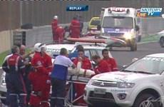 Tay đua F1 Mark Webber thoát chết sau tai nạn kinh hoàng