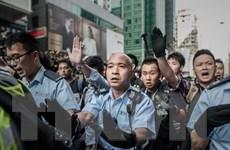 Cảnh sát Hong Kong lên kế hoạch giải tán đám đông biểu tình