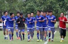 Tuyển Việt Nam khởi động cho bán kết lượt về gặp Malaysia