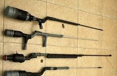 Hà Tĩnh: Thu giữ trên 250 súng hơi cồn tự chế và xung kích điện