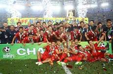 Cận cảnh Thái Lan vô địch sau trận cầu kịch tính trên đất Malaysia