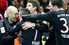 Bayern Munich vô địch lượt đi Bundesliga với số điểm kỷ lục