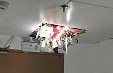 Trung Quốc: Trộm đồ lót bị bắt vì tang vật làm sập trần nhà